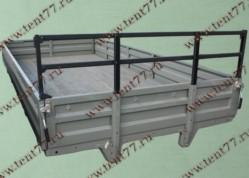 Платформа Газель 330202 н/об.(метал.борта, тент, каркас) удлиненная база