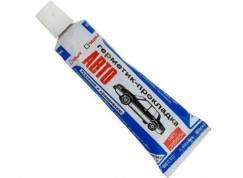 Герметик-прокладка  60гр (серый) маслобензостойкий