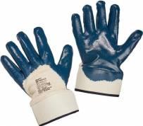 Перчатки ХБ нитрил.покрытие с манжетами