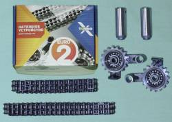 Ремонт ГРМ Газель ЗМЗ двигатель 406 (2 зв., 2 нат., 2 цепи) EВРO-2 72/92 Ditton X-TURBO