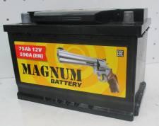 АКБ 6 СТ- 75 п.п. (278x175x190) 590A  Magnum