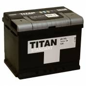 АКБ 6 СТ- 60 п.п. (242x175x190) 540A  TITAN STANDART
