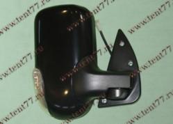 Зеркало  Газель 3302 (нового образца) правое (с поворот) черный глянец