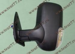 Зеркало  Газель 3302 (нового образца) левое (с поворот) черный матовый