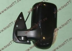 Зеркало  Газель 3302 (нового образца) левое (с поворот) черный глянец