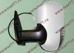 Зеркало  Газель 3302 (нового образца) левое (с поворот) белый