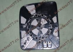 Зеркальный элемент  Газель Некст NEXT Бортовой  правый верхняя часть с обогревом в рамке