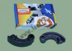 Башмак натяжителя цепи на Газель двигатель 406 с графитовым наполнителем (комплект 2 шт)