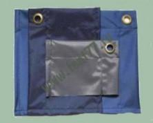 Полог из ткани оксфорд с люверсами