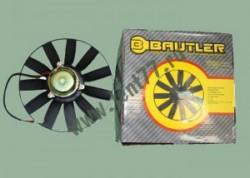 Электро вентилятор охлаждения радиатора на Газель 3302 двигатель 406 11 лопостей