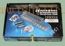 Ремонтный комплект на Газель ГРМ ЗМЗ двигатель 406 (2 зв., 2 нат., 2 цепи) EВРO-2 70/90