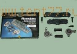 РК ГРМ на Газель с ЗМЗ двигателем 406 (2 зв., 2 нат., 2 цепи) EВРO-2 72/92