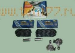 РК ГРМ на Газель ЗМЗ двигатель 406 (2 зв., 2 нат., 2 цепи) ЕВРO-3 72/92 Ditton