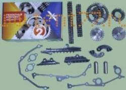 РК ГРМ на Газель ЗМЗ двигатель 406 (полное, с башмаками) ЕВРО-2 70/90 Ditton X-TURBO