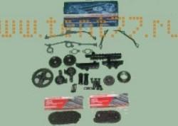 РК ГРМ на Газель ЗМЗ двигатель 406 (полное, с рычагами) EВРO-2 72/92