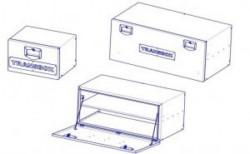 Ящик инструментальный (400х300х300) дверь нержавейка