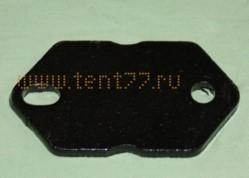 Пластина кузовной стремянки на Газель ГАЗ-3302, 53, 3307 прижимная усил. 8мм /ТРЕК-НН/