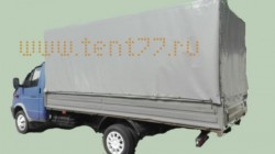 Комплект Тент и Каркас прямоугольный h-1,8м., L-4,25м Отечественная ткань