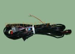Жгут по раме на Газель ГАЗ-3302 БИЗНЕС двигатель Cummins (модификация c 06.2011 г/в) удлиненная база без боковых габаритов на бортах