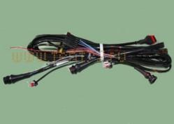 Жгут по раме на Газель 3302 БИЗНЕС двигатель Cummins (модификация c 06.2011 г/в) удлиненная база с боковыми габаритами на бортах