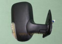 Зеркало на Газель ГАЗ-3302, 2217 с поворотником (цвет Черный матовый) правое