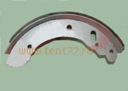Колодка тормозная задняя Газель 3302 , Некст (накладка ТИИР) 1шт.