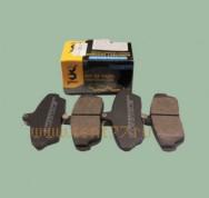 Колодка тормозная передняя Газель 3302,3110 на Газель  (упак.g-PART) 4шт.