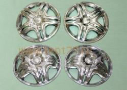 Колпак колеса декоративные R16 на Газель ГАЗ-3302 Дакар хром  (к-т 4шт)