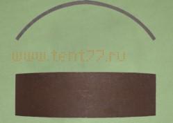 Накладка тормозная на Газель 3302 задняя