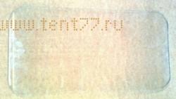 Стекло задка кабины на Газель ГАЗ-3302, 2310, 3307 бесцветное Бор