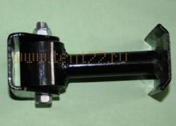 Стойка стабилизатора на Газель 3302 нового образца в сборе с сайлент блоком и кронштейном