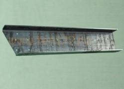 Удлинитель рамы на Газель ГАЗ-3302 (вставка в раму) сверленный левый (L=940 см)