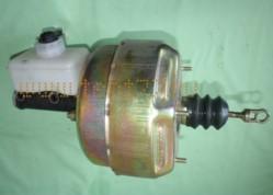 Усилитель тормозов вакуумный на Газель ГАЗ-3302 с ГТЦ и бачком в/сб.
