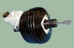 Усилитель тормозов вакуумный на Газель НЕКСТ ГАЗ-3302 NEXT с ГТЦ и бачком в/сб. /BOSCH/