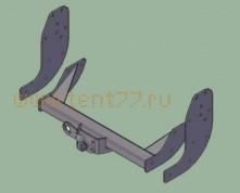 Фаркоп (ТСУ) на Газель некст NEXT (бортовая) без электрики