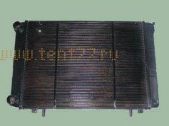 Радиатор на Газель Бизнес с 2009г медный 3х рядный
