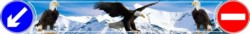 Брызговик Газель длинный  задний 2050x320мм Орлы