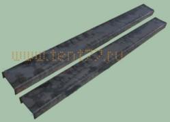 Удлинители рамы длина 2 метра толщина 6 мм пара