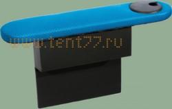 Подлокотник на Газ 3302 бардачком и подстаканником синий