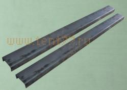 Удлинитель рамы Газель  (средний) толщ.4мм. несверл комплект  L-1100мм