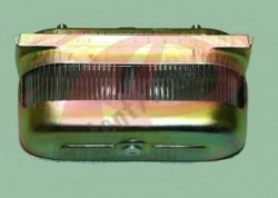 Фонарь освещения номерного знака Газель Некст NEXT, 53, УАЗ,  металлический