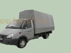 Тент ГАЗ 3302 Газель Импортная ткань, удлиненный, высота 1,9м