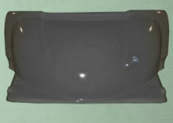 Серый спойлер на крышу Газель Некст (2,0 м)