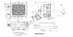 Отопитель допополнительный универсальный  ОАД.12 (d20) 12В (медн.рад) металл корпус