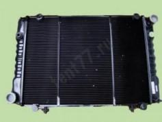 Радиатор охлаждения двигателя Газель 3302 2-х рядный нового образца медный  (теплоотдача и15%)