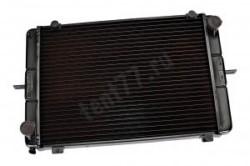 Радиатор охлаждения двиг.ателя Газель 3302 2-х рядный  старого образца медный