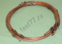 Комплект тормозных трубок Газель 3302 медные (10шт)