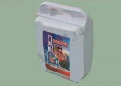 Домкрат гидравлический бутылочный (10 т, 200-385 мм, пластиковый кейс)