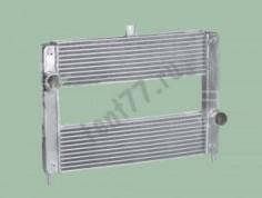 Радиатор интеркулер на Газель