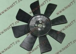 Вентилятор  двигатель 402, 406 8 лопастей Пластик